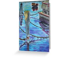 Watercolor Sketch - Sausalito Docks. 70 Issaquah Dock. 2013 Greeting Card