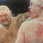 Mark Hunt vs Stefan Struve by AnthroEmesis