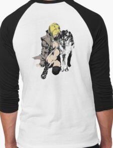 Sniper Wolf Men's Baseball ¾ T-Shirt