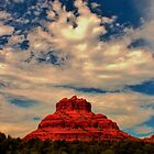 Bell Rock, Red Rock Country, Sedona, Arizona by WhiteLightPhoto