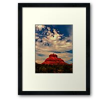 Bell Rock, Red Rock Country, Sedona, Arizona Framed Print