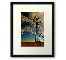 The Wind and the Water Framed Print