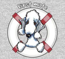 Bedlington Terrier :: First Mate Kids Tee
