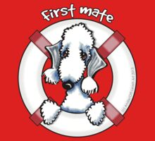 Bedlington Terrier :: First Mate One Piece - Short Sleeve