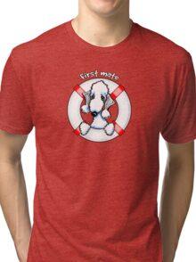Bedlington Terrier :: First Mate Tri-blend T-Shirt