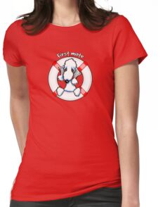 Bedlington Terrier :: First Mate Womens Fitted T-Shirt