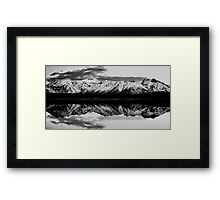 Sierra Nevada Sandwhich Framed Print