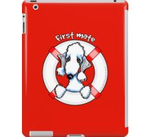 Bedlington Terrier :: First Mate iPad Case/Skin