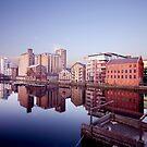 Grand Canal Dock, Dublin, Ireland by Alessio Michelini