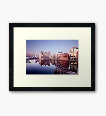 Grand Canal Dock, Dublin, Ireland Framed Print