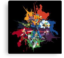 Megaman: Souls of a Hero Canvas Print