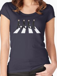 Star Wars - Beatles  Women's Fitted Scoop T-Shirt