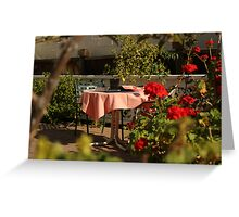 Date with the Roses Greeting Card