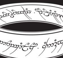 Hecho En Mordor Sticker
