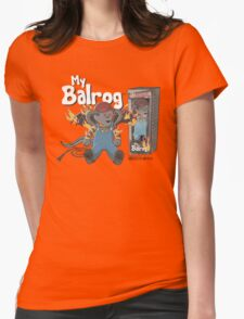 My Balrog And Me Womens Fitted T-Shirt