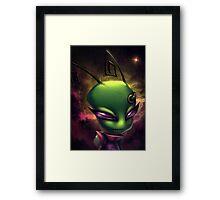 Invader Zim Fan Art - Irken Tak Framed Print