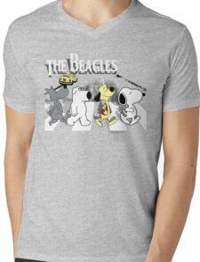 The Beagles 2.0 Mens V-Neck T-Shirt