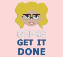 Geeks get it Done Kids Tee