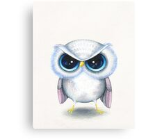 Grumpy Bird Canvas Print
