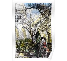 Montmartre 10 in colour Poster