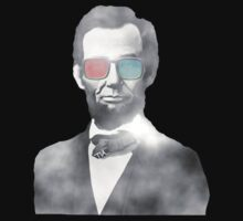 Abraham Lincoln 3d glasses  by Tia Knight