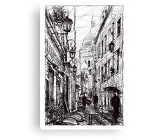 Montmartre 11 Canvas Print