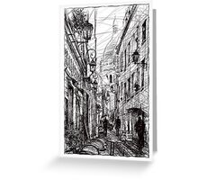 Montmartre 11 Greeting Card