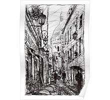 Montmartre 11 Poster