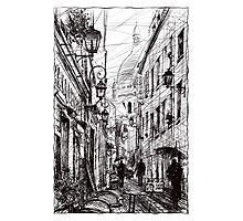 Montmartre 11 Photographic Print