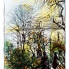 Montmartre 13 in colour by Tatiana Ivchenkova