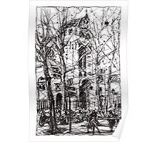 Montmartre 14 Poster