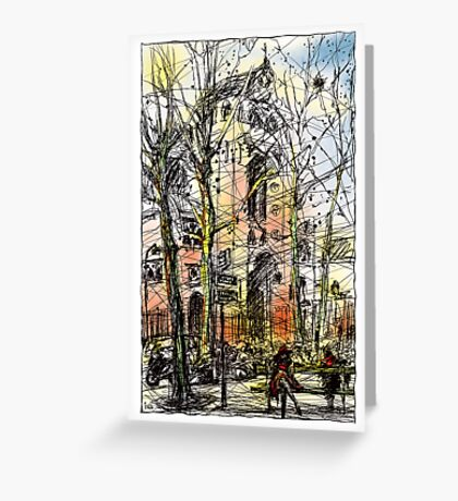 Montmartre 14 in colour Greeting Card