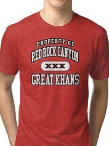 Great Khans Athletic Tri-blend T-Shirt