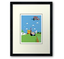 Kirby Time Framed Print