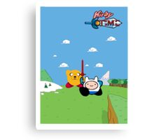 Kirby Time Canvas Print