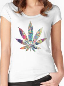Smoke Sum Women's Fitted Scoop T-Shirt