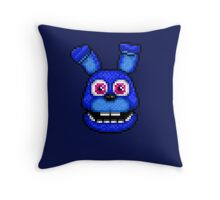 Adventure Bonnie - FNAF World - Pixel Art Throw Pillow