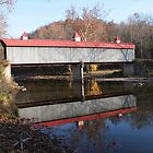 Bridge of Madson Co. in Madson Co. KY by G. Cobble