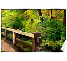 Nature Walk © Poster