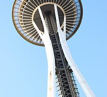 Space Needle  by Michael Jordan