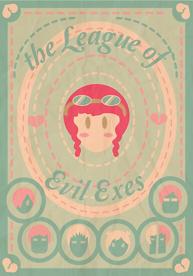 the League of Evil Exes by espanameg