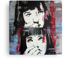 Mia Wallace - Pulp Fiction Canvas Print