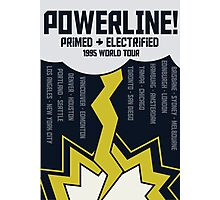 Powerline World Tour Photographic Print