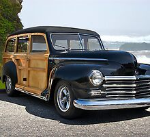 1948 Plymouth Special Deluxe Woody Wagon by DaveKoontz
