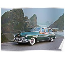 1952 Buick Woody Estate Wagon Poster