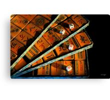 Mad for Mahjong! Canvas Print
