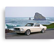 1964 Ford Mustang Fastback Canvas Print