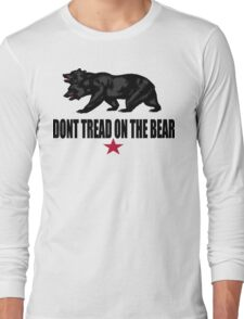 Don't Tread on the Bear Long Sleeve T-Shirt