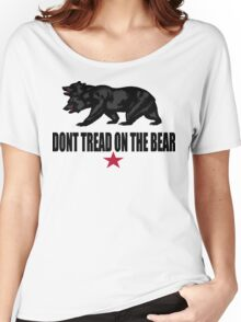 Don't Tread on the Bear Women's Relaxed Fit T-Shirt