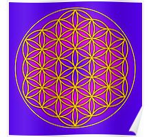 Flower of Life Sacred Geometry Poster